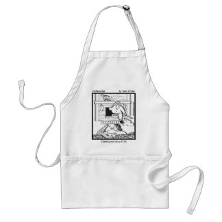 Coming out to Santa Adult Apron