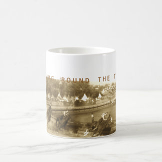 Coming 'Round The Turn Classic White Coffee Mug
