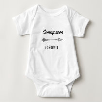 Coming soon... baby bodysuit