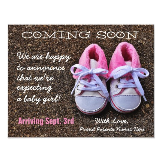 text baby announcement
