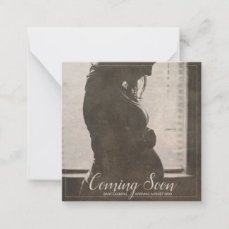 Coming Soon - Big Expectations Note Card