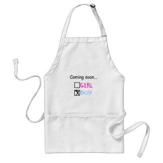 Coming Soon, Boy Adult Apron