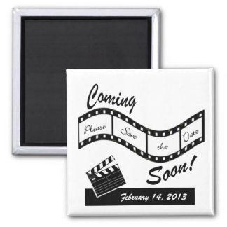 Coming Soon - Film Strip Save the Date Magnet