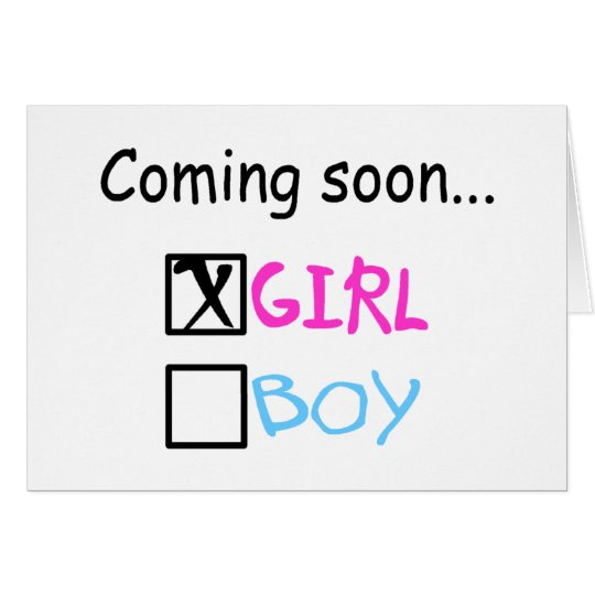 Coming Soon, Girl Card
