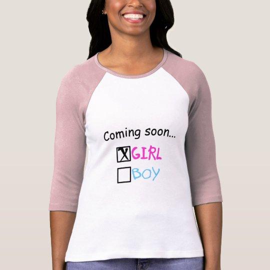 Coming Soon, Girl T-Shirt