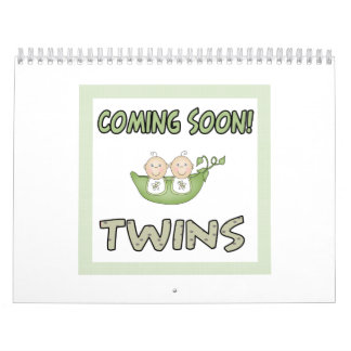 Coming soon TWINS Wall Calendars