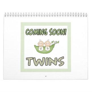 Coming soon TWINS Calendar
