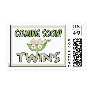 Coming Soon TWINS Postage