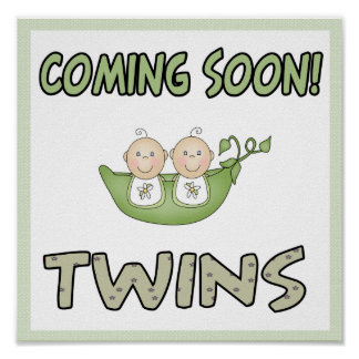 Coming soon TWINS Poster
