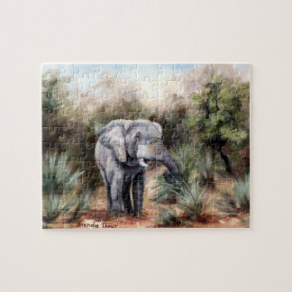 Coming Through Elephant Puzzle