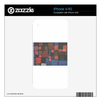 Coming to bloom by Paul Klee Skins For The iPhone 4S