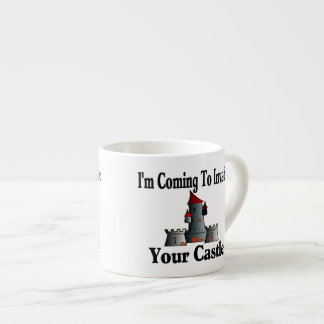 Coming To Invade Your Castle Espresso Cup