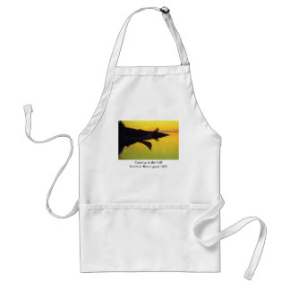 Coming to the Call ~ Frederic Remington Adult Apron
