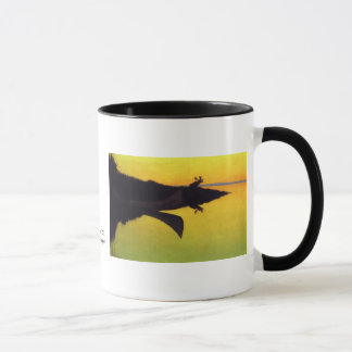 Coming to the Call ~ Frederic Remington Mug