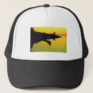 Coming to the Call ~ Frederic Remington Trucker Hat