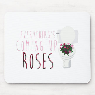 Coming Up Roses Mouse Pad