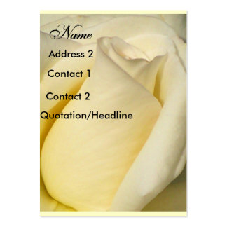 Coming up Sweet_Profile Card_by Elenne Boothe Large Business Cards (Pack Of 100)