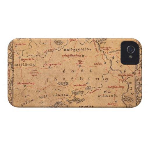 Comino del este iPhone 4 Case-Mate protector