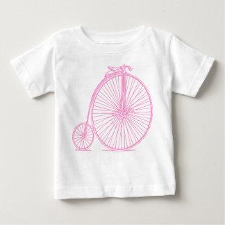 Comino del penique - rosa playera de bebé