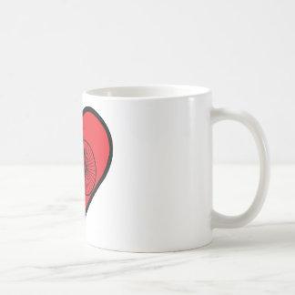 comino del penique taza de café