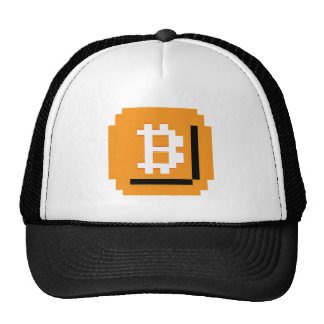 Comió el gorra del bloque de Bitcoin del pedazo