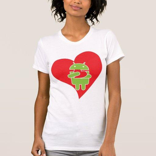 Comió mi androide del corazón camiseta