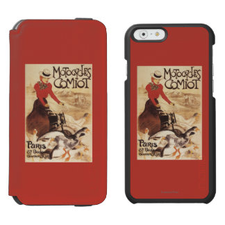 Comiot Motocycles Woman and Geese Promo Poster iPhone 6/6s Wallet Case