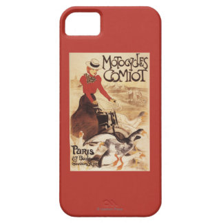 Comiot Motocycles Woman and Geese Promo Poster iPhone SE/5/5s Case