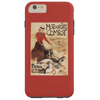Comiot Motocycles Woman and Geese Promo Poster Tough iPhone 6 Plus Case