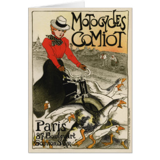 Comiot Motorcycles Greeting Card