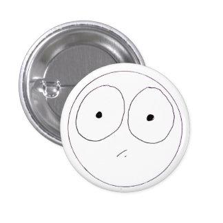 Comique Face 1 Inch Round Button