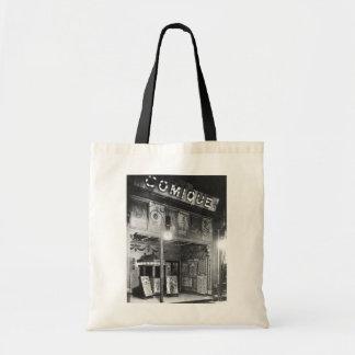Comique Theatre Canvas Bags