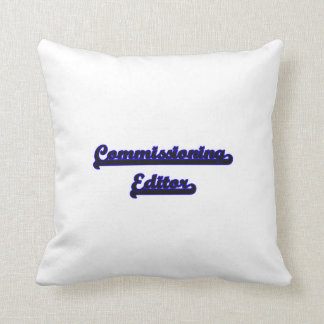 Comisión de sistema de trabajo clásico del almohada