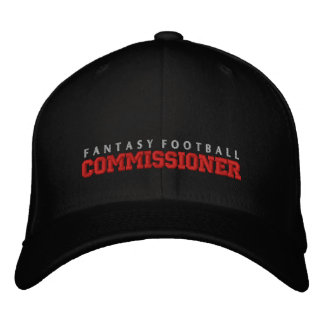 Comisión Hat del fútbol de la fantasía Gorra De Béisbol Bordada