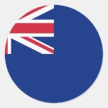 Comisiones británicas Of Northern Lighthouses, Uni Pegatinas Redondas