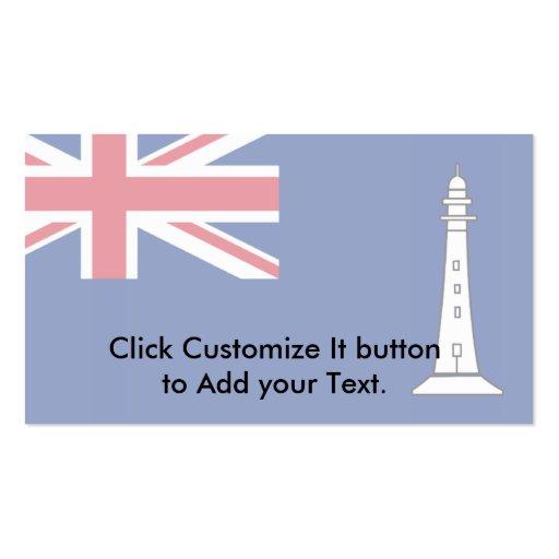 Comisiones británicas Of Northern Lighthouses, Uni Plantilla De Tarjeta De Visita