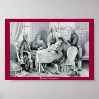 Comité de la declaración poster