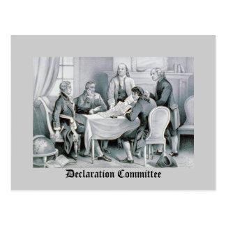 Comité de la declaración postal
