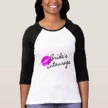 Comitiva de las novias (beso) camiseta