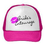 Comitiva de las novias (beso) gorras