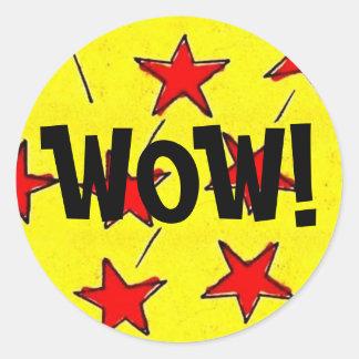 ¡Comix retro protagoniza el wow! Etiqueta Redonda