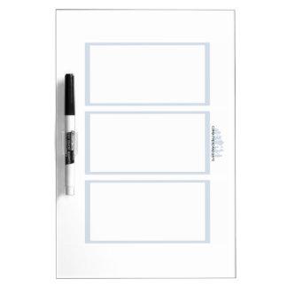 Comix the Board Game- 3 Panel Medium Whiteboard