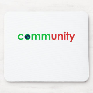 comm(unity) mouse pad