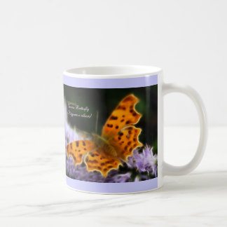 Comma Butterfly  (Polygonia c-album) Coffee Mug