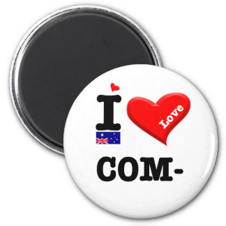 COMMA - I Love Magnet