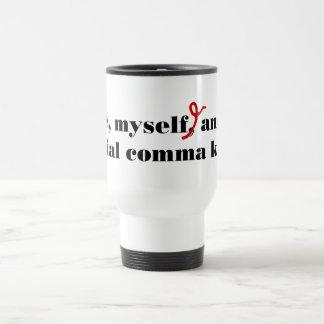 Comma Killer 15 Oz Stainless Steel Travel Mug