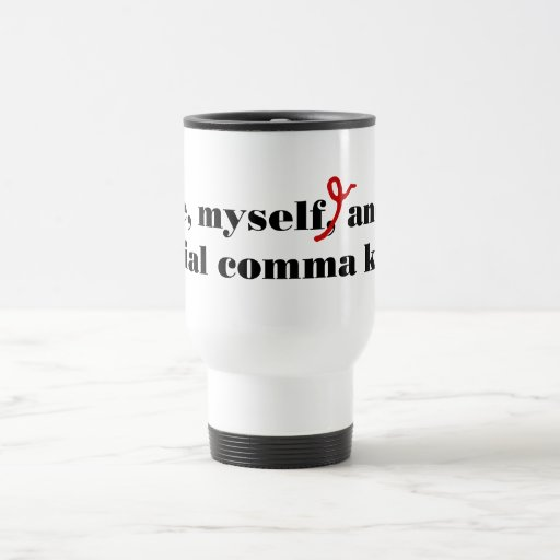 Comma Killer Coffee Mugs
