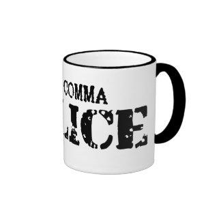 Comma Police Mug