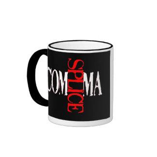 Comma Splice Ringer Coffee Mug