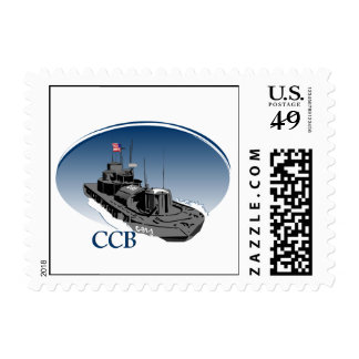 Command Communication Boat (CCB) Stamp